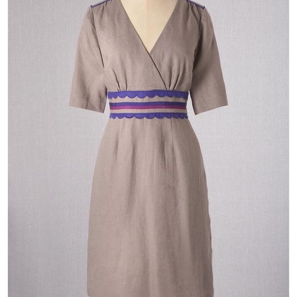 5971ae75b388 Boden Dresses   Skirts - Boden Scallop Trim Dress